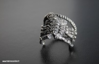 "Bague ""Alien Facehugger"""